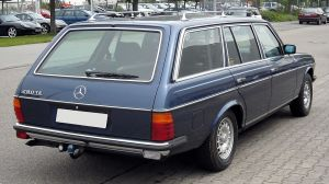 W123 Mercedes Wagon
