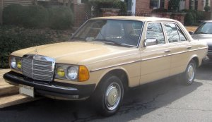 W123 Sedan